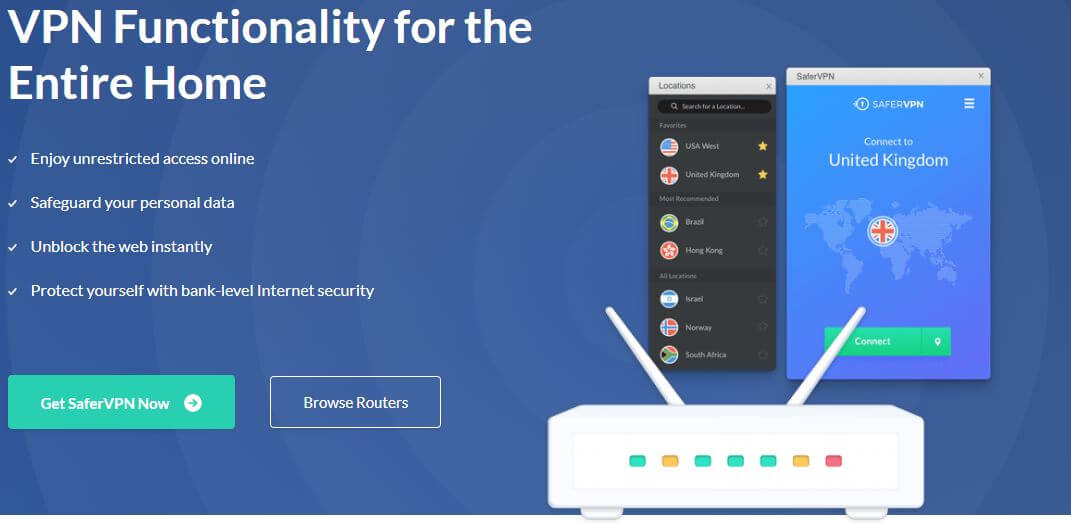 SaferVPN Routers