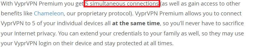 VyprVPN Connections