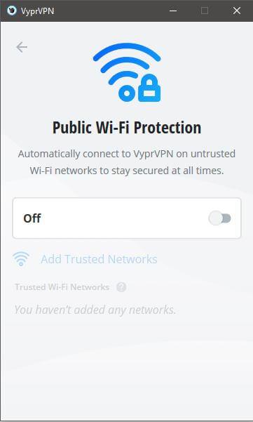 VyprVPN Public WiFi