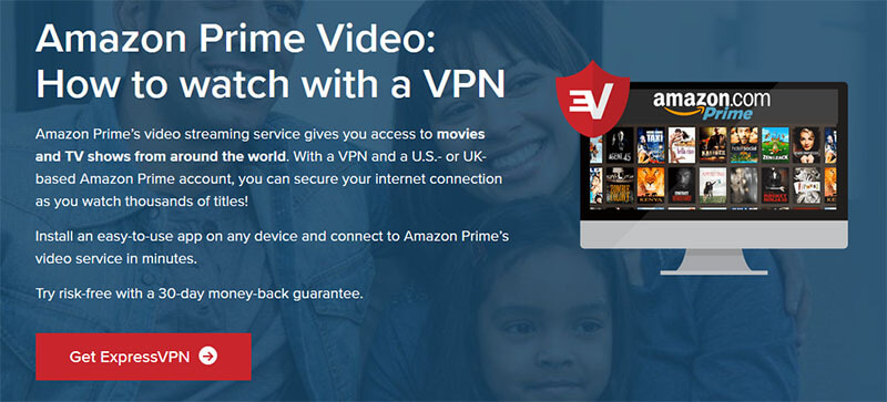 Watch Amazon Prime Video with ExpressVPN