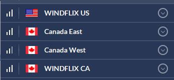 Windflix servers