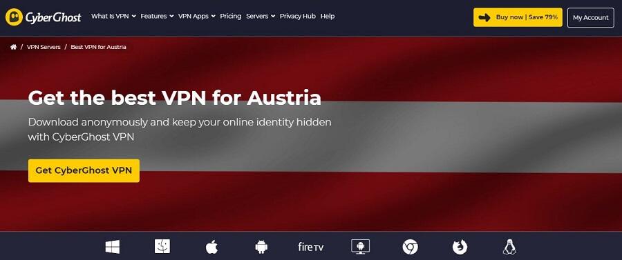 CyberGhost Austria
