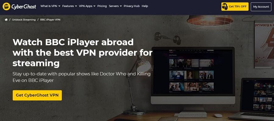 CyberGhost BBC iPlayer