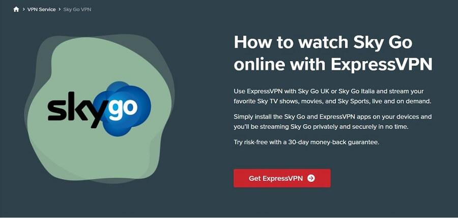ExpressVPN Sky Sports