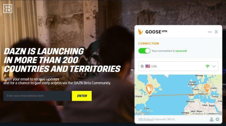 Goose VPN DAZN