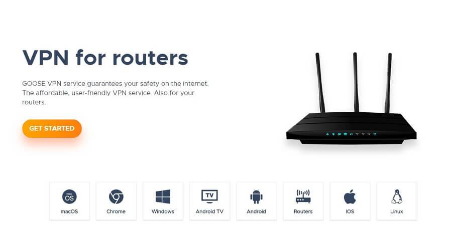Goose VPN Router