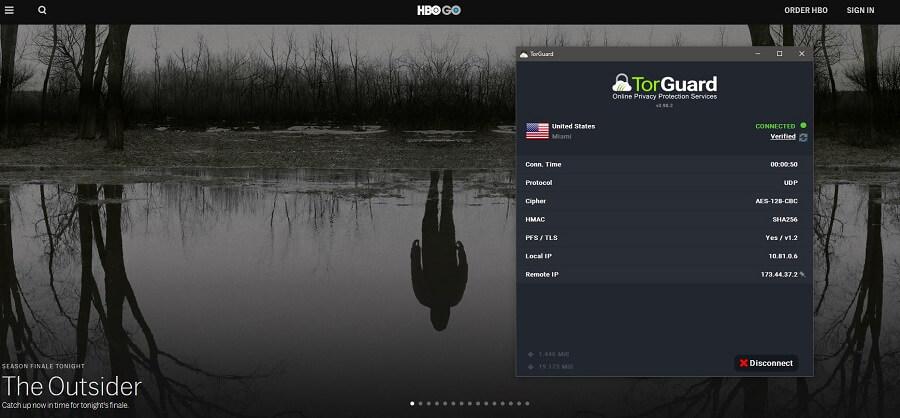TorGuard HBO GO
