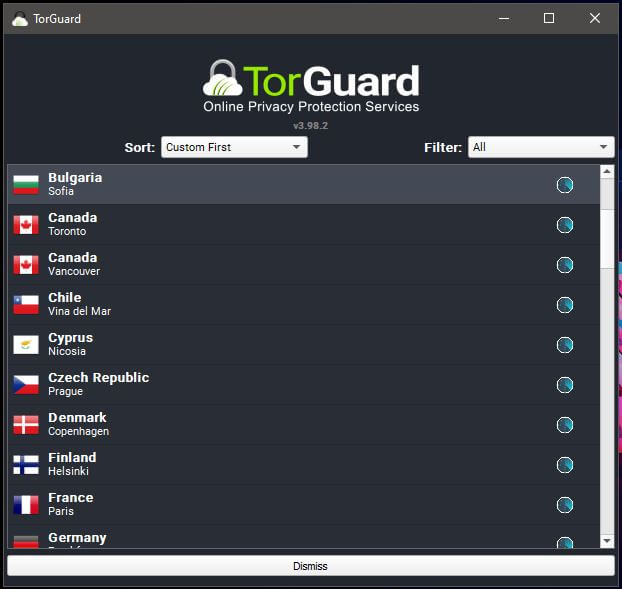 TorGuard Windows App 2