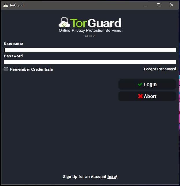 TorGuard Windows App 3
