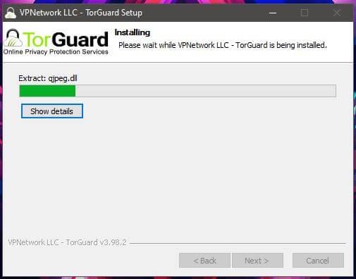 TorGuard Windows Installation 3