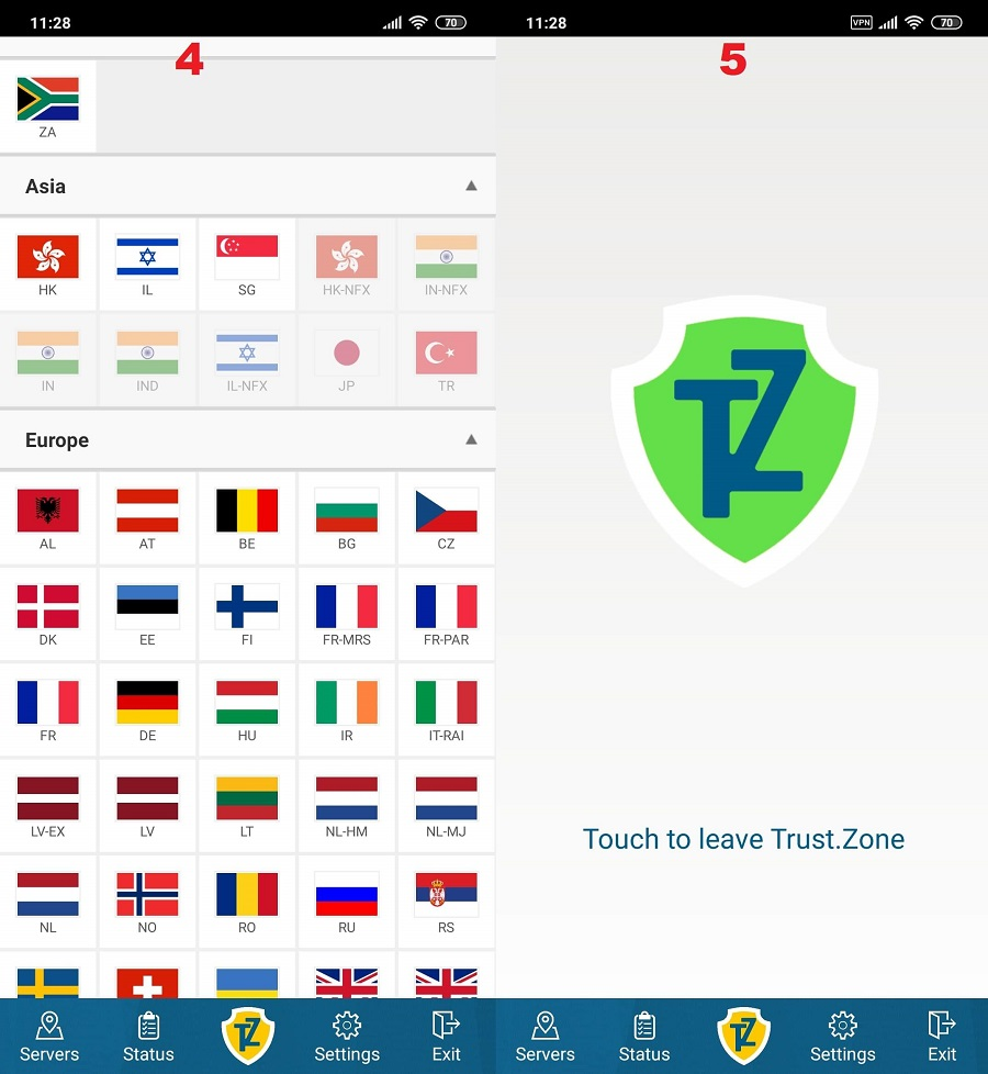 Trust.Zone Android 4, 5