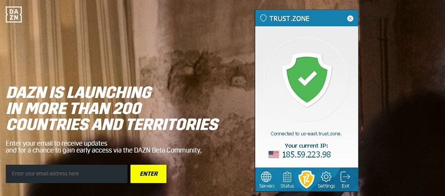 Trust.Zone DAZN