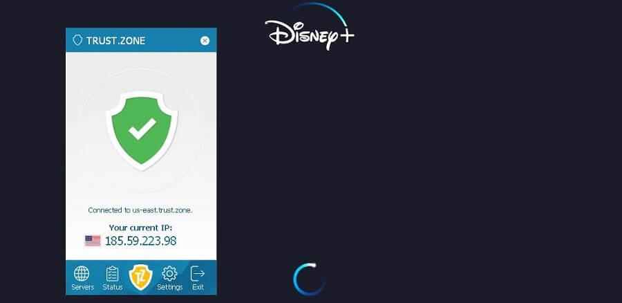 Trust.Zone Disney+