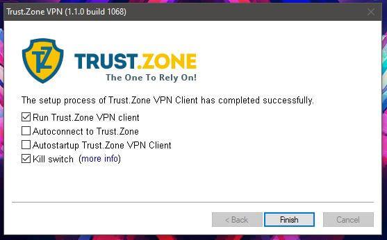 Trust.Zone Windows Setup 3
