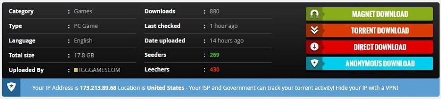 VPNhub Torrenting