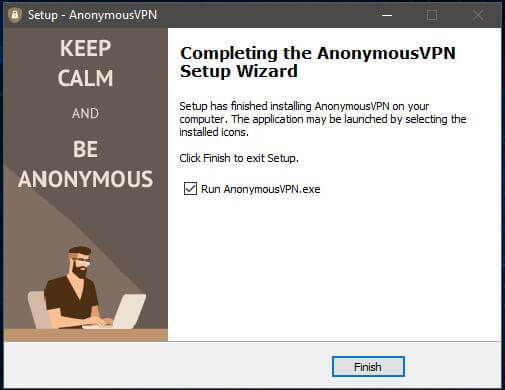 Anonymous VPN Windows Setup 4