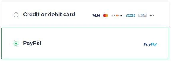 Avast SecureLine Payment Methods