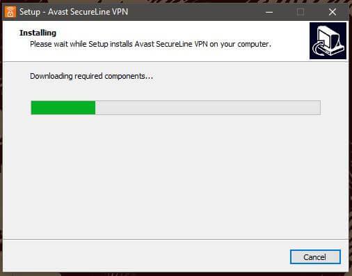 Avast SecureLine Windows Setup 3