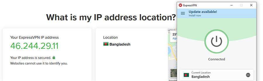 Bangladeshi IP ExpressVPN