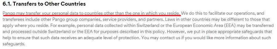 Betternet Privacy Policy 2