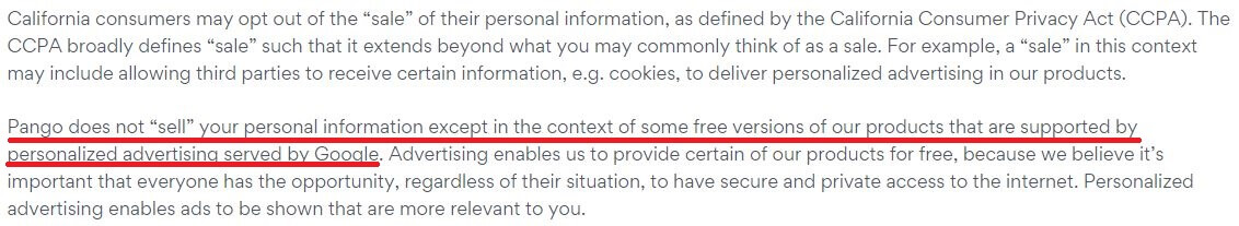 Betternet Privacy Policy 3
