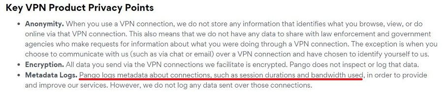 Betternet Privacy Policy 5