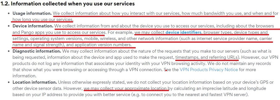 Betternet Privacy Policy 6