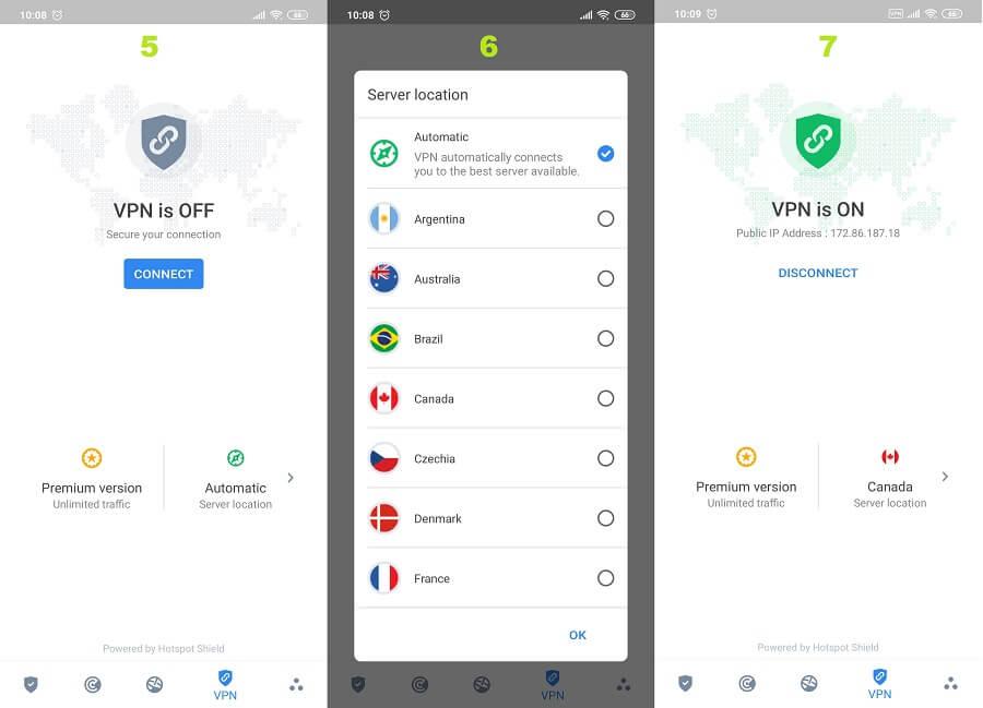 Bitdefender Android 5, 6, 7