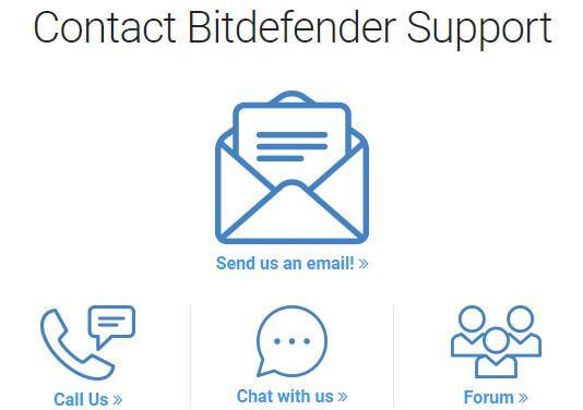 Bitdefender Contact