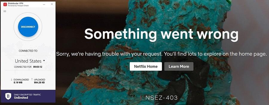 Bitdefender Netflix