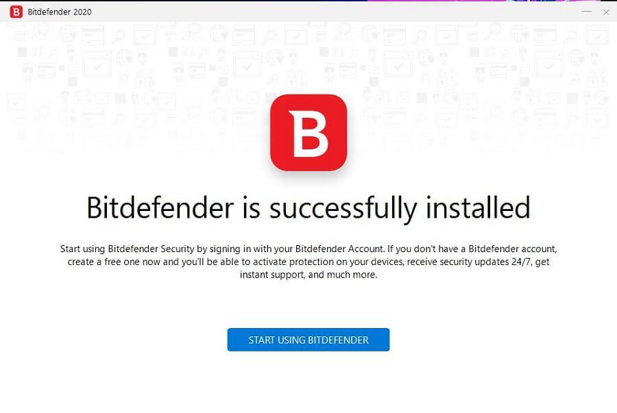 Bitdefender Windows Setup 5