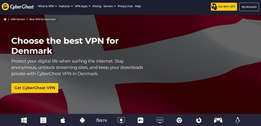 CyberGhost Denmark