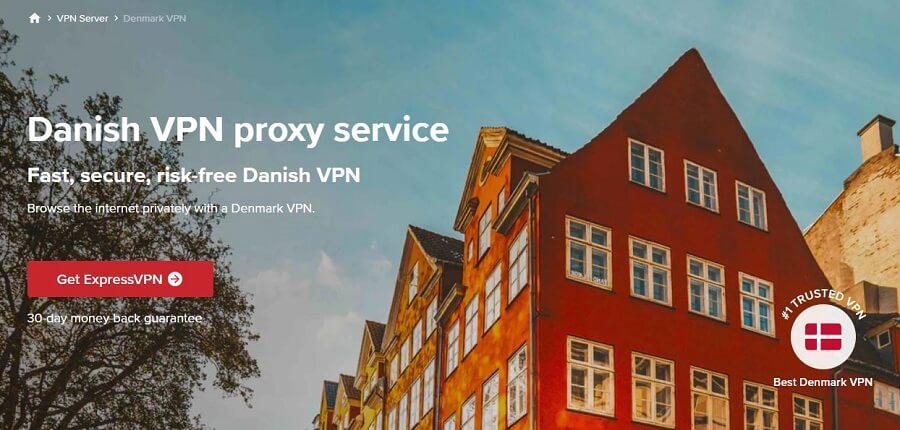 ExpressVPN Denmark
