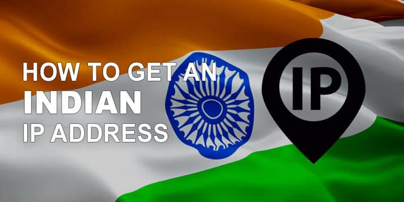 Get Indian IP