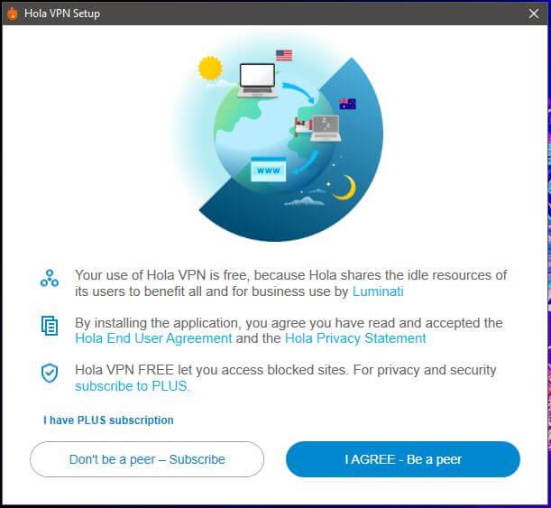 Hola VPN Setup 2