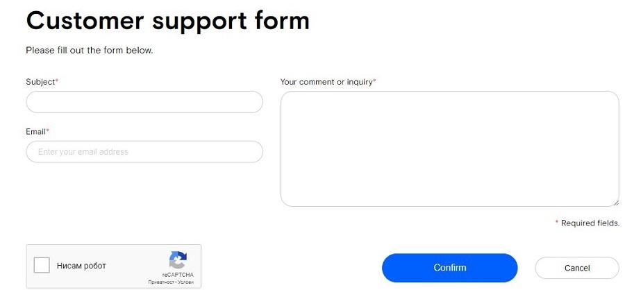 Opera VPN Contact