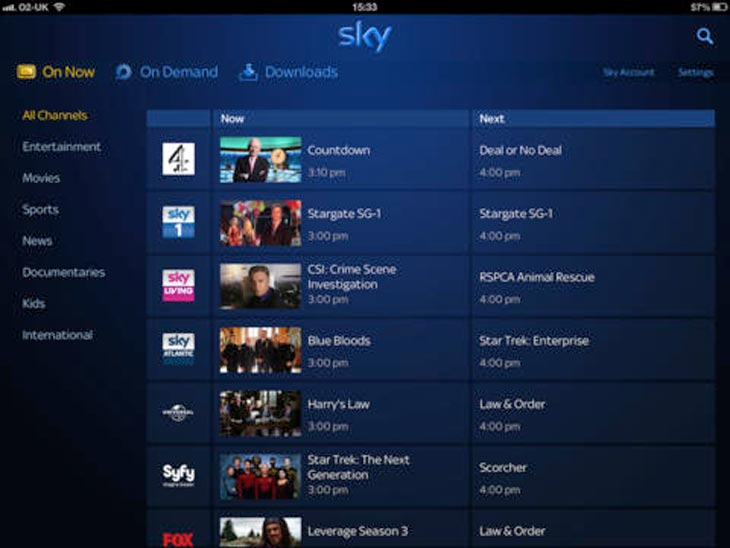 Unblock and stream Sky Go abroad