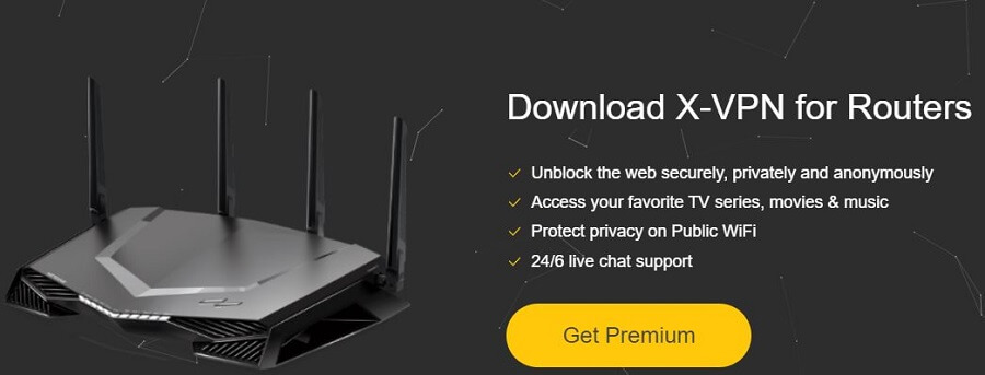 X-VPN Routers