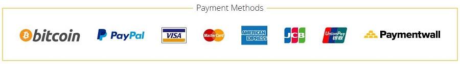 ZoogVPN Payment Methods