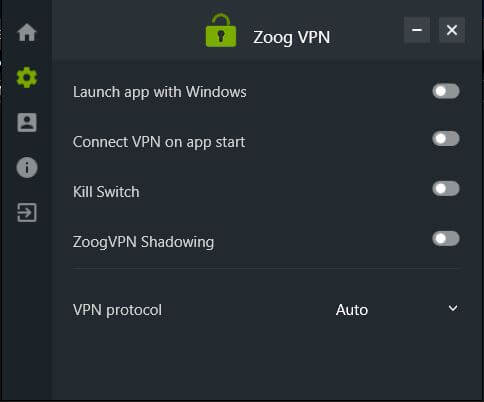 ZoogVPN Shadowing