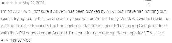 AirVPN Google Play