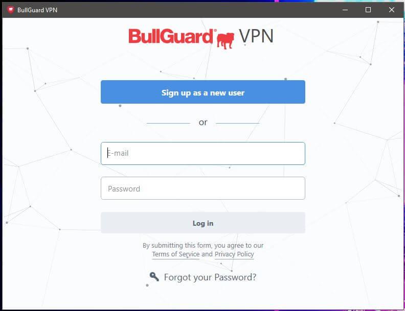 Bullguard VPN App 1