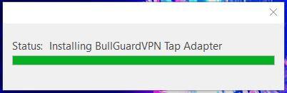 Bullguard VPN Setup 1