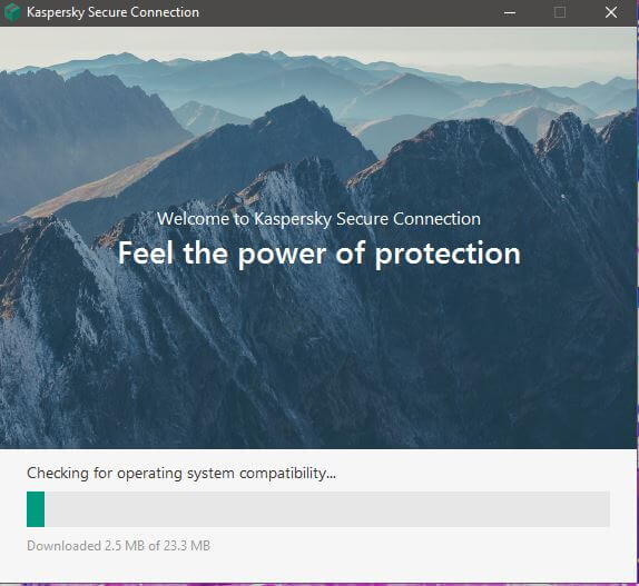 Kaspersky Secure Connection Setup 3