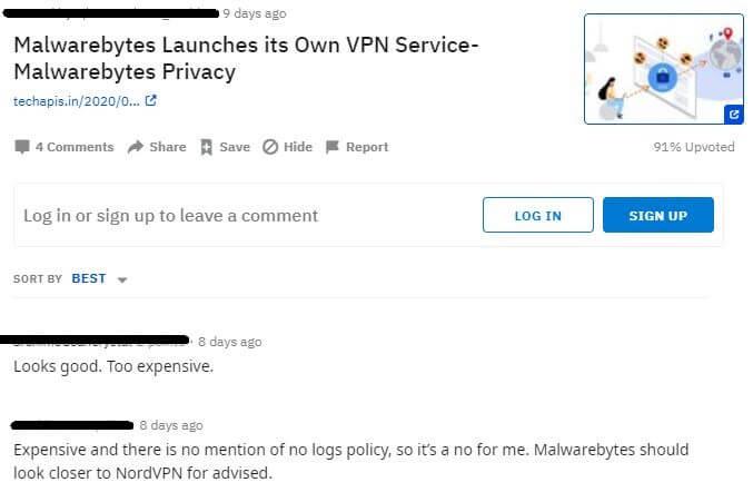 Malwarebytes VPN Reddit