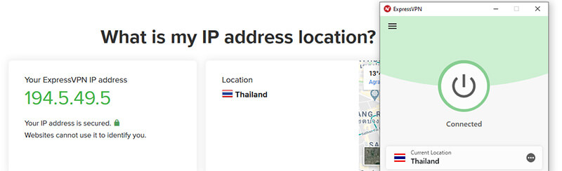Thai IP ExpressVPN