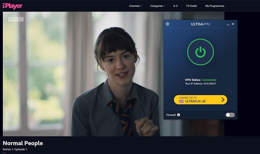UltraVPN BBC iPlayer