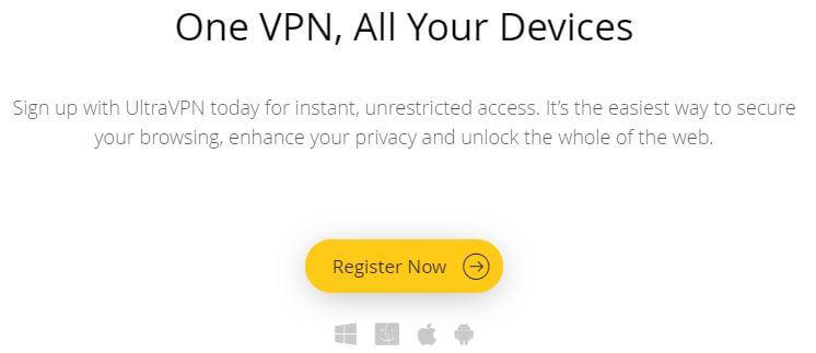 UltraVPN Devices