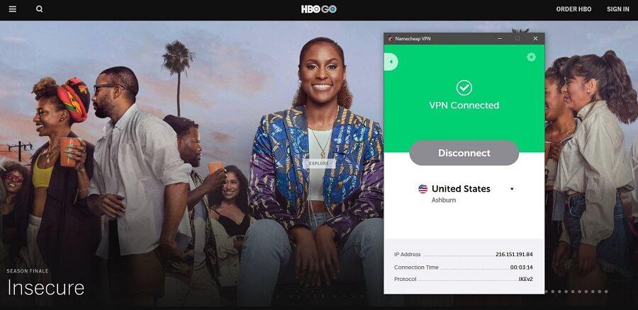 Namecheap HBO GO