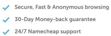 Namecheap Money Back